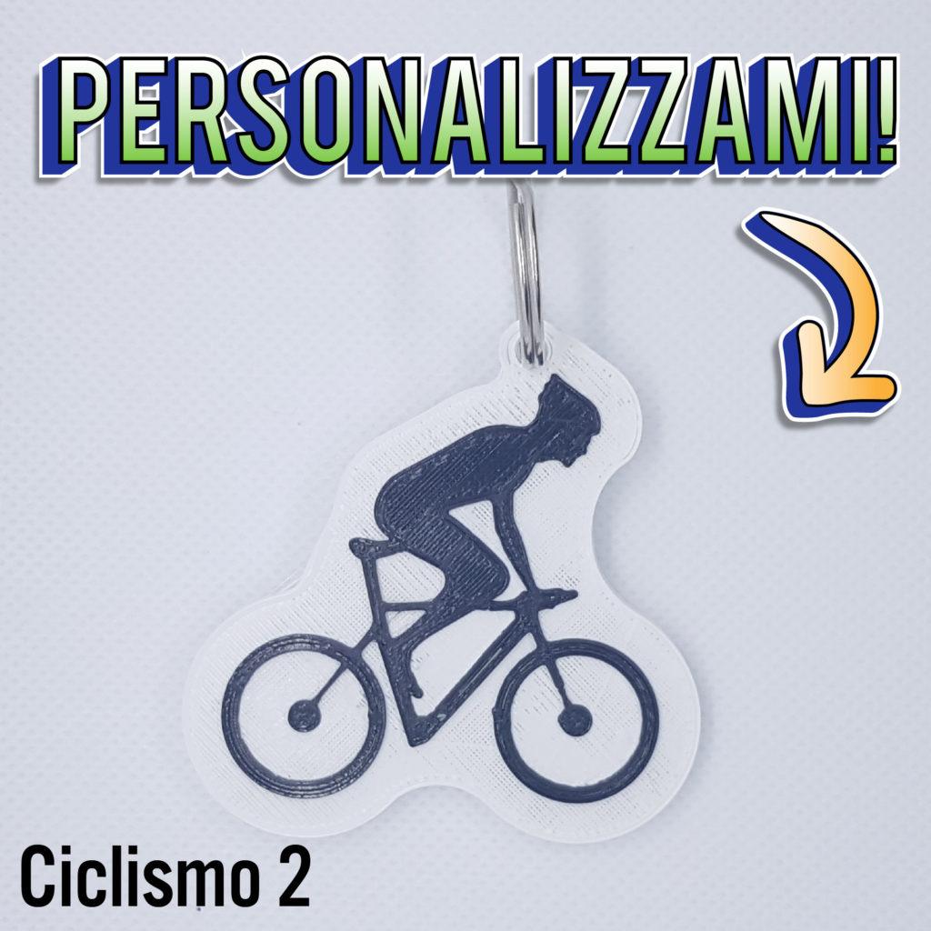 Ciclismo portachiavi