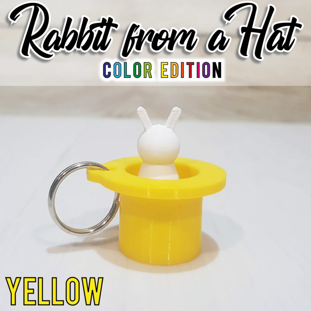 """""""Rabbit From a Hat"""" giallo"""