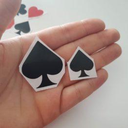 Sticker semi delle carte
