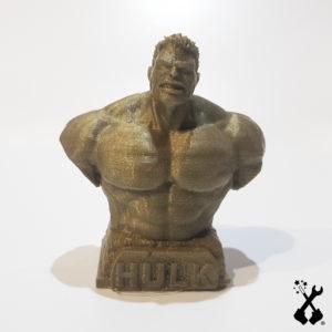 hulk stampa 3d