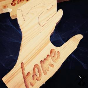 regalo in legno